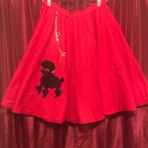 🎃Custom poodle skirt🎃